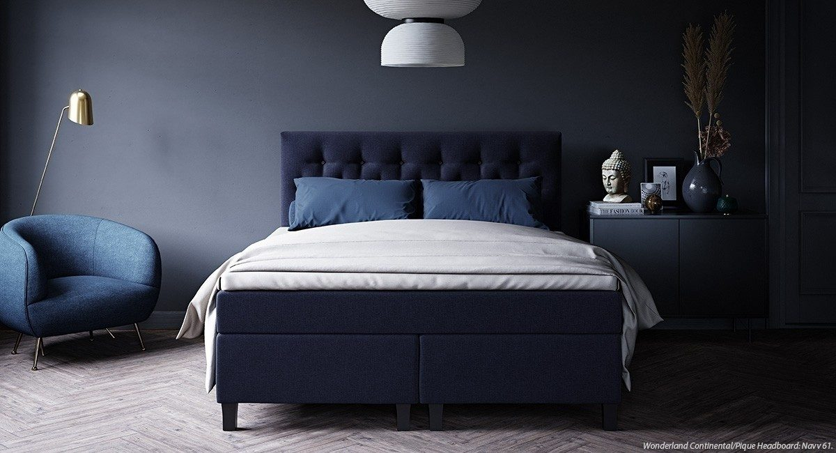 Wonderland W10 Continental bed