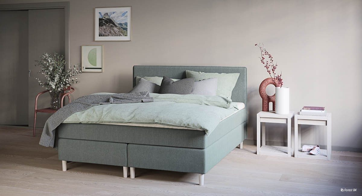 Wonderland W5 Continental bed