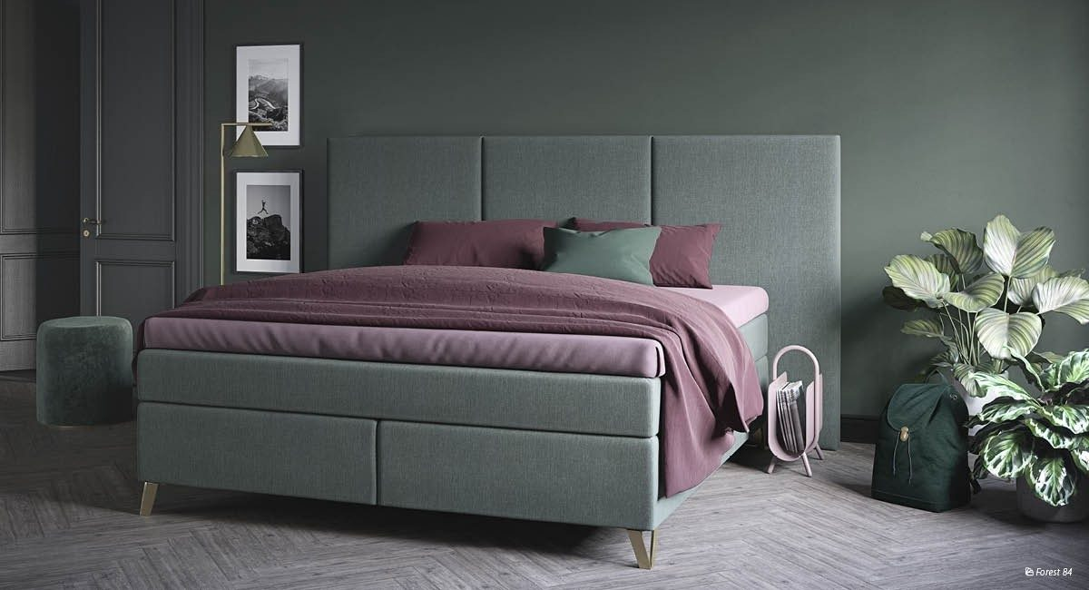Wonderland W12 Continental bed