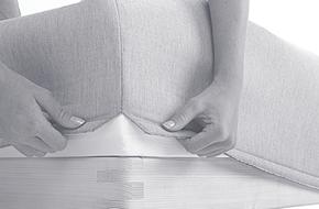 er sengen din vanskelig å rengjøre?