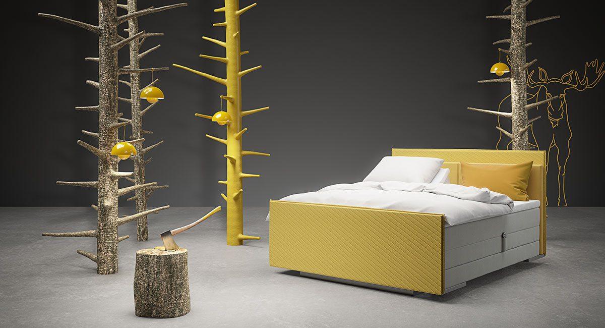 Wonderland Comfort 522 Adjustable bed