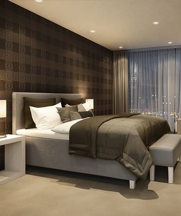 Prøv en Wonderland seng på hotell