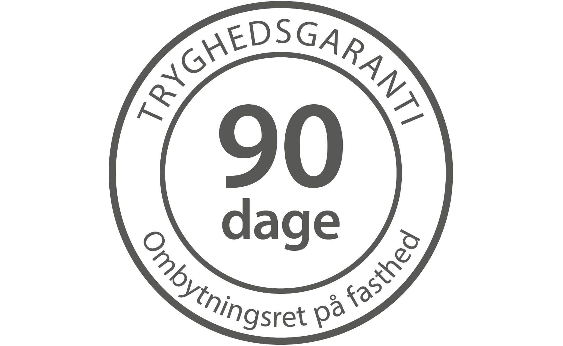 90 dage tryghedsgaranti